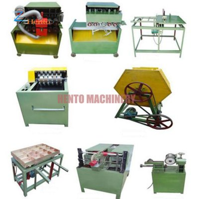 Wooden Toothpick Making Machine